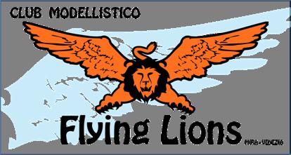 Logo club modellistico flying lions